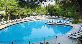 Dalmatský hotel Croatia s bazénem