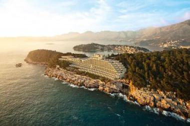 Dalmatský hotel Croatia u moře