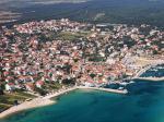 Chorvatské městečko Pakoštane
