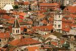 Část chorvatského města Šibenik
