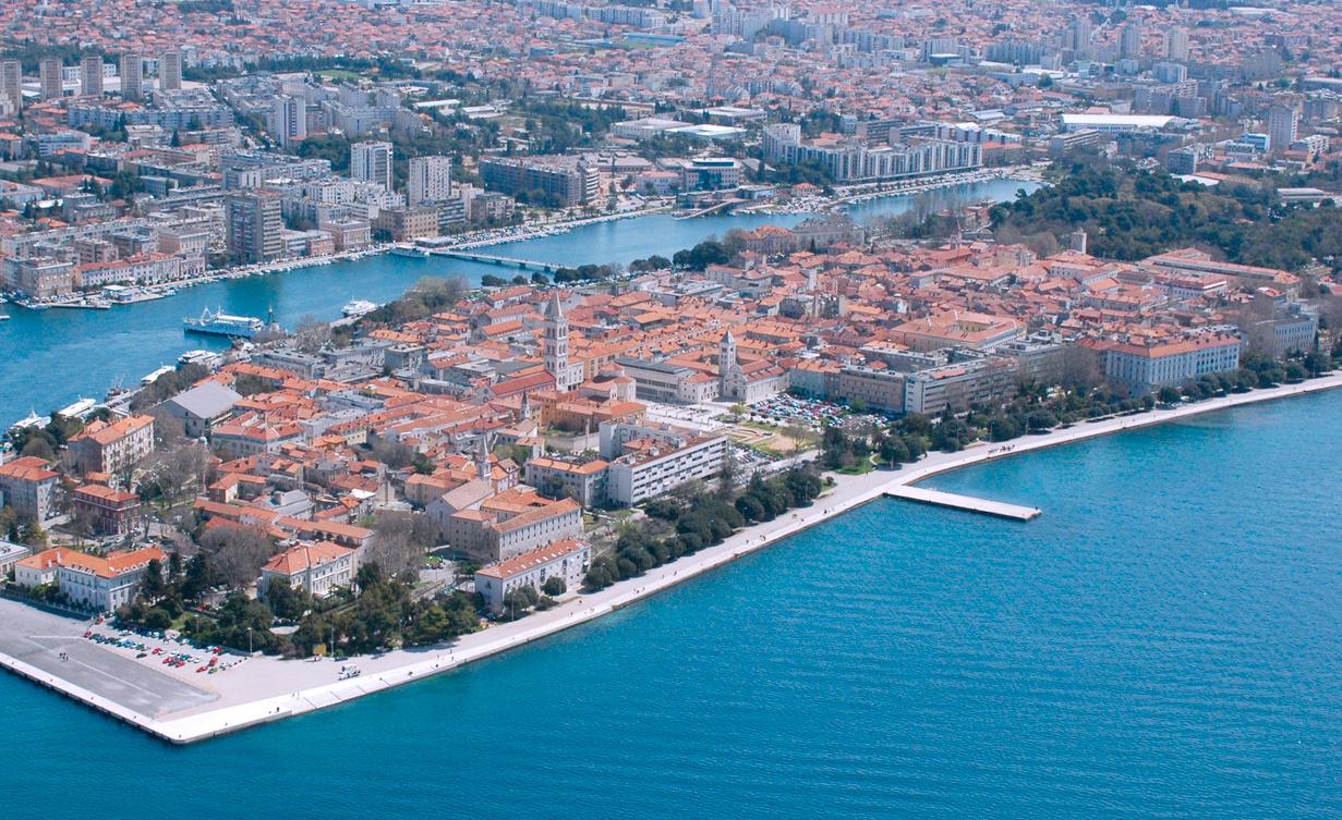 Zadar - Dalmácie